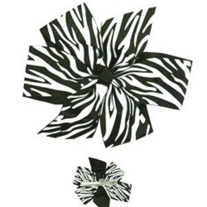 Zebra barrette New